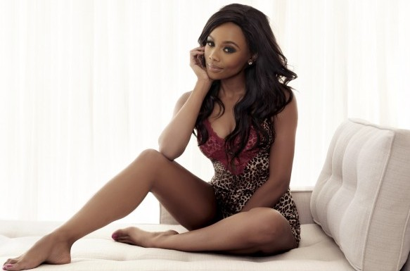 Bonang Matheba causing a distraction!