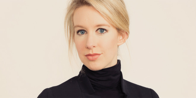 Youngest Female Billionaire- Elizabeth Holmes