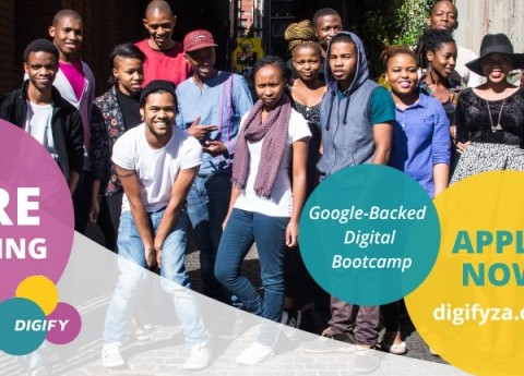 Applications Open for Google Backed BootCamp in Jozi-Digify, Apply Now!