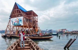 A Floating Slum Turned School, For Nigerian Water Communities