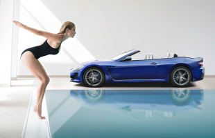 South African model Genevieve Morton to represent Maserati