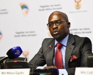 Minister of Home Affairs, Malusi Gigaba