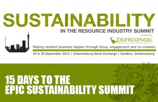 Last week of registration: Sustainability Summit 2015