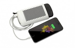 The device that charges your phone… with Water!