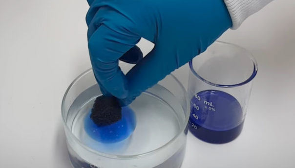 Argonne Scientists invent the revolutionary oil-spill sponge