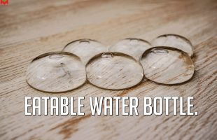 Edible plastic water bottles – Ooho Water